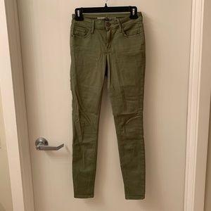 Old Navy Rockstar Jeans - Olive Green